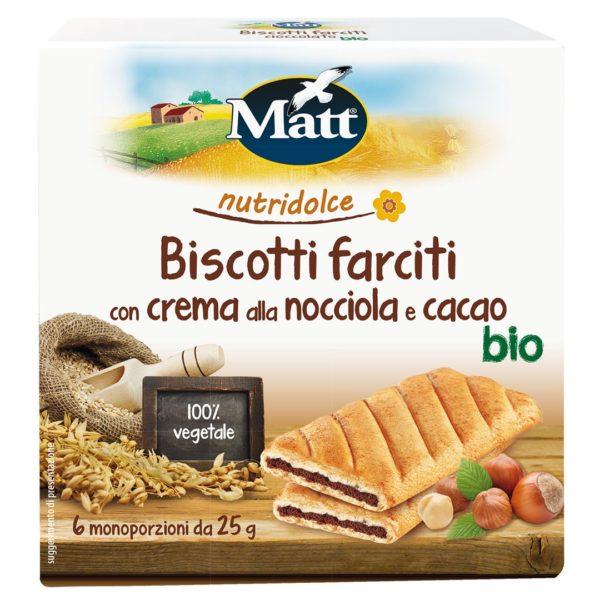 Matt Biscotti Farciti Nocciola Cacao