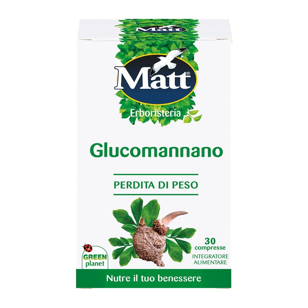 Matt-Glucomannano