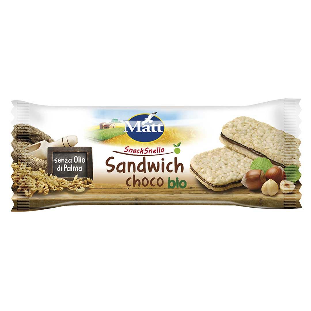 Matt Sandwich Choco Bio