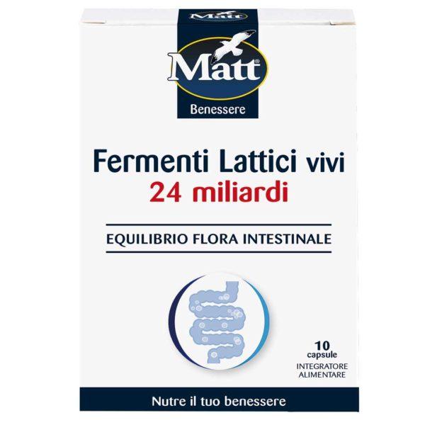Matt Fermenti Lattici Vivi 24 Miliardi